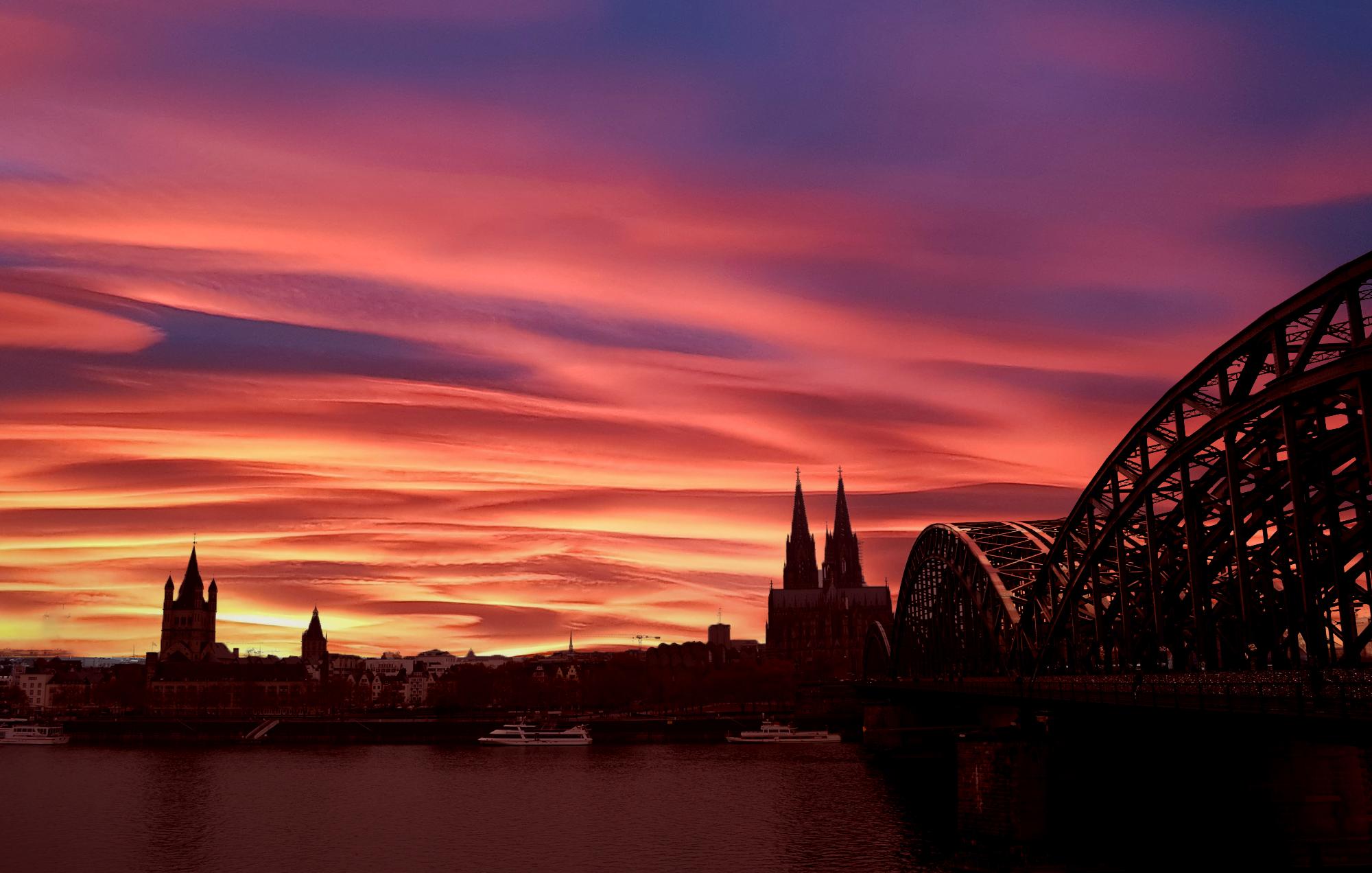 tramonto Colonia