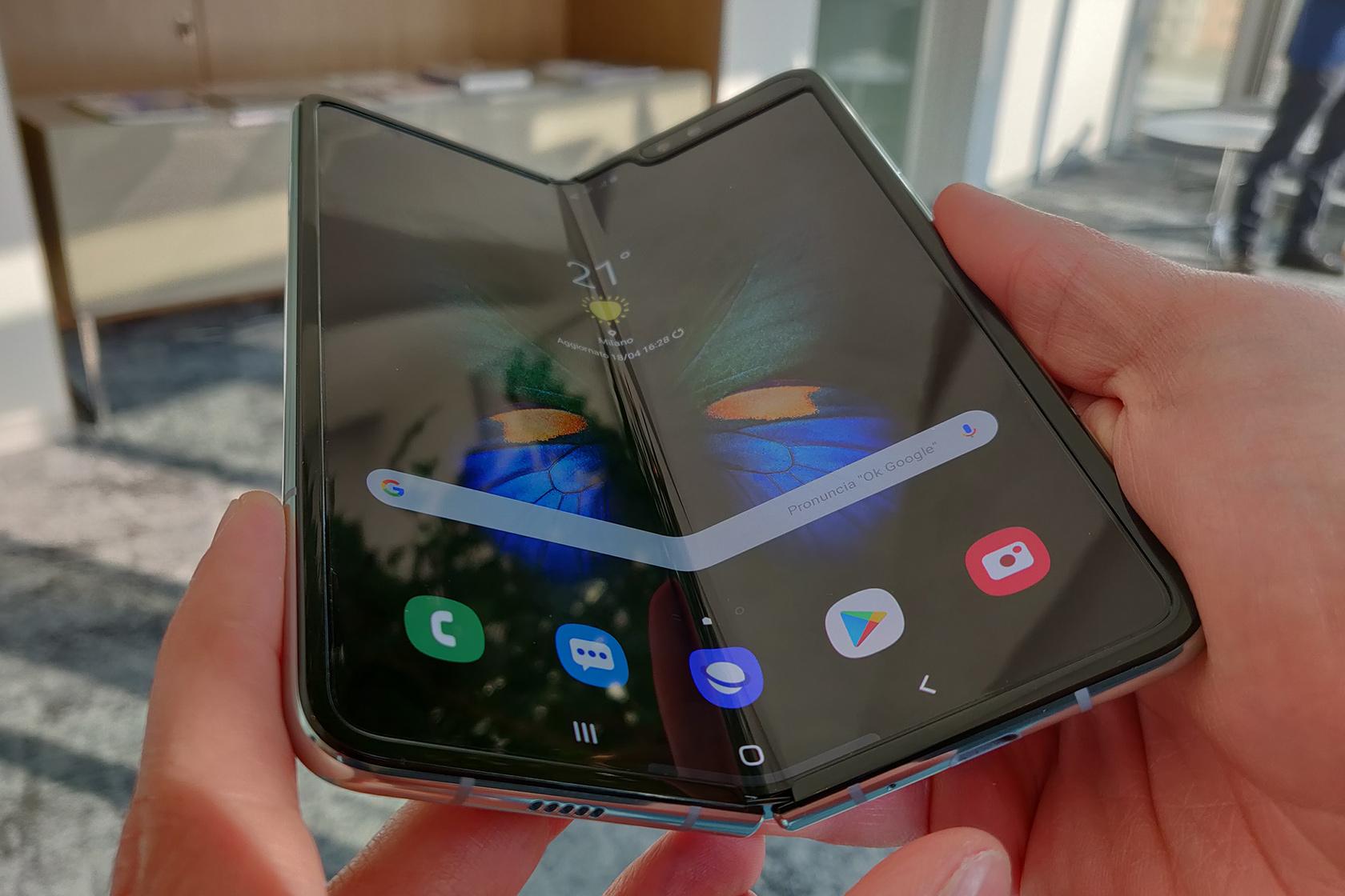 Samsung Galaxy Fold-ritirato