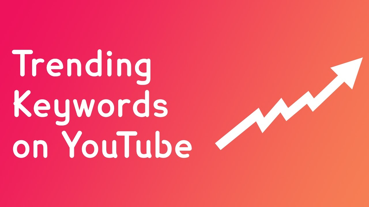 youtube keyword di tendenza