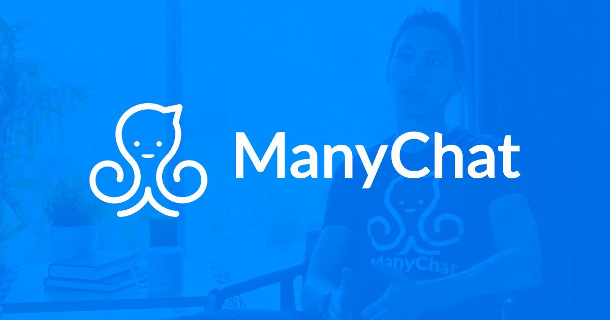 manychat, il logo del chatbot più famoso!
