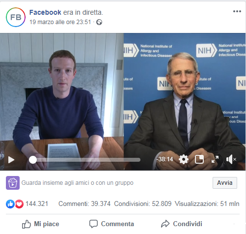 facebook-diretta