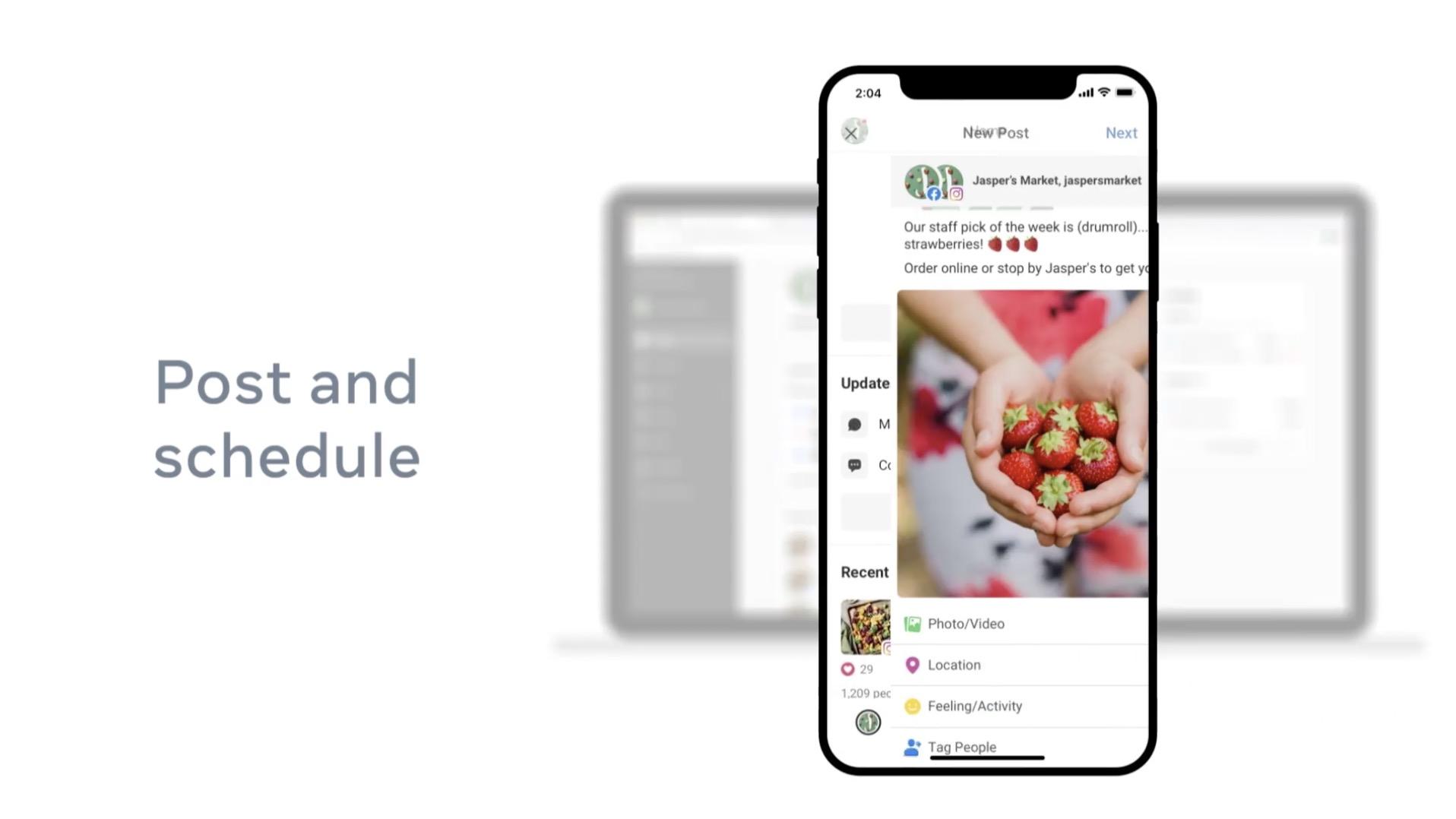 Programmare storie su Instagram con Business Suite