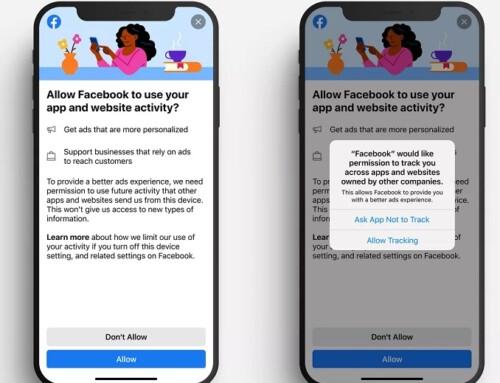 iOS 14.5 – Facebook aggiunge un avviso per gli utenti